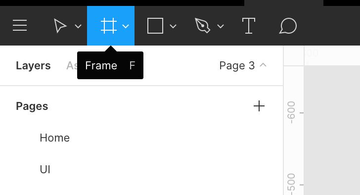 Как в Фигме создать лист А4, окно под мобильное устройство и другие форматы