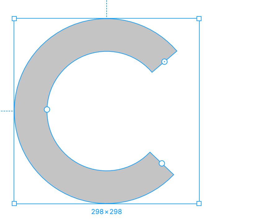 Готовая круговая диаграмма в Figma