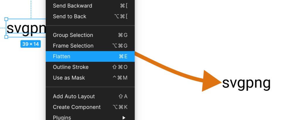 Как сделать текст векторной фигурой