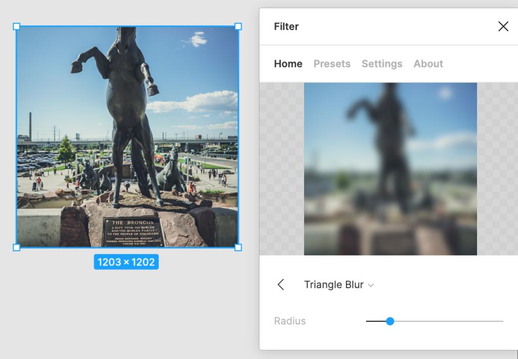 Filter - обработка фото в Figma [Плагин]