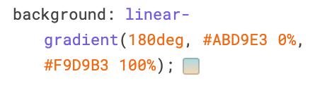 Исходный градиент в CSS