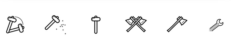 Иконки инструменты