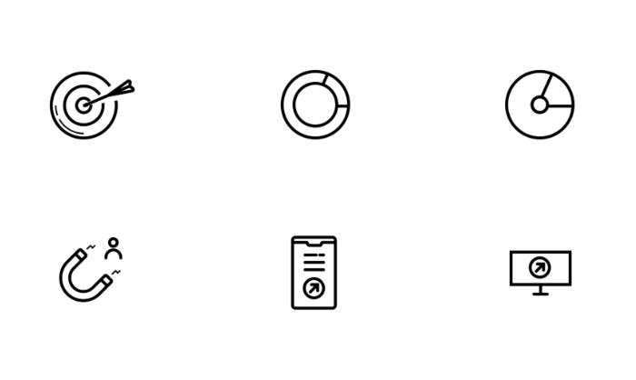Иконки маркетинг в SVG бесплатно